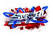 3d Graffiti Tag